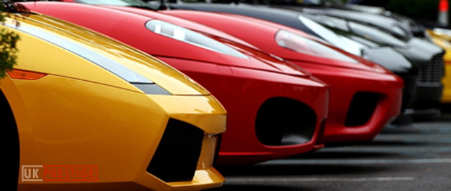 Lamborghini hire Sheffield